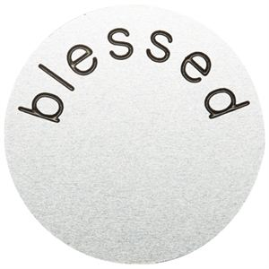 Picture of 'Blessed' Medium Silver Coin
